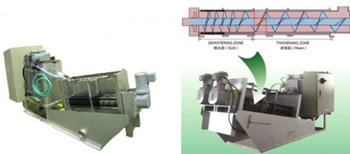 Dewatering Disc Press